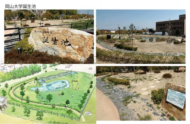 岡山大学誕生池
